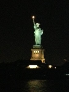 Statue of Liberty from the Dinner Cruise